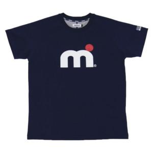ミストラル HP-ドライTシャツ(半袖) -エムドット- NAVY 素材 ポリエステル、ポリプロピレン 機能 吸水速乾、UVカット 日本製