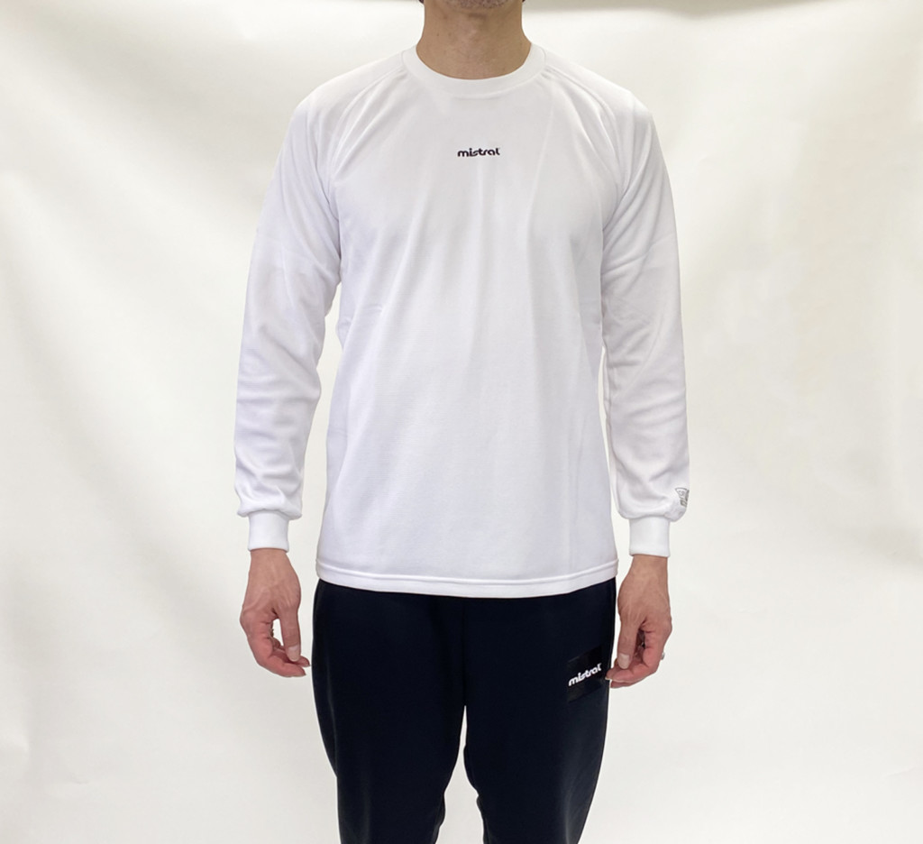 HP-DRY 長袖Tシャツ_wearing