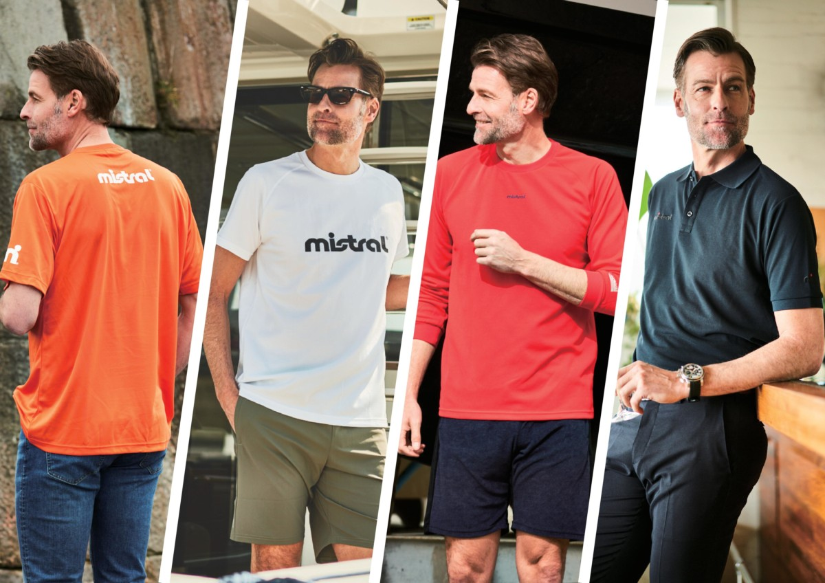 mistralの人気Tシャツなど4種のサイズ感比較