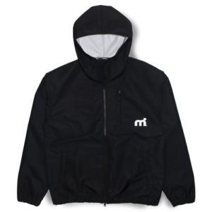 ウォータースポーツブランドmistral(ミストラル)のマリンパーカー(デッキパーカー)「ミストラル メンズ コースタルジャケット(ブラック)」はデザインと機能を水や風から連想した一着