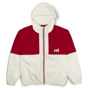 ウォータースポーツブランドmistral(ミストラル)のマリンパーカー(デッキパーカー)「ミストラル メンズ コースタルジャケット(ホワイト/レッド)」はデザインと機能を水や風から連想した一着