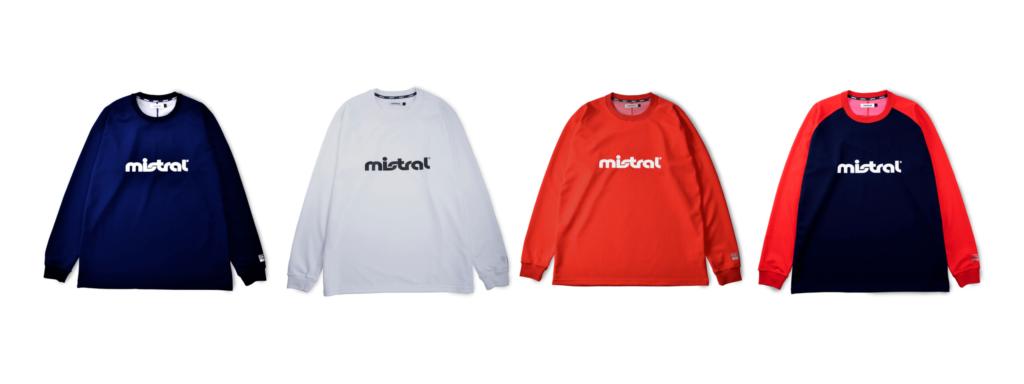 ウォータースポーツブランドミストラルの男女兼用ユニセックスハイドロフォビックドライTシャツ(長袖)、ネイビー、ホワイト、レッド、ネイビー/レッド 素材 ポリエステル、ポリプロピレン 機能 吸水速乾、UVカット 日本製