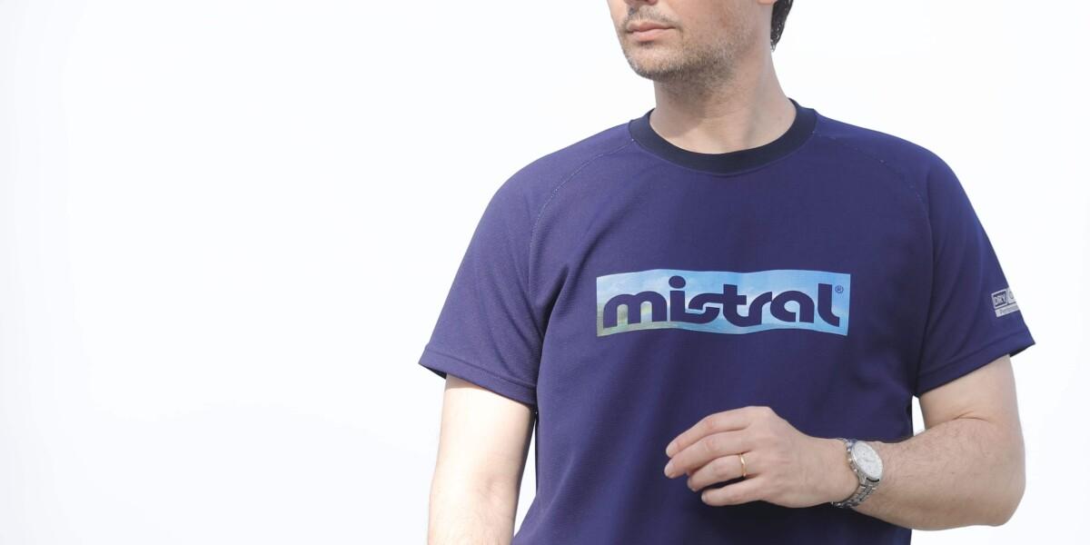 ミストラル ユニセックス [ HP-DRY 半袖 T シャツ - ミストラル スカイ - ] ネイビー