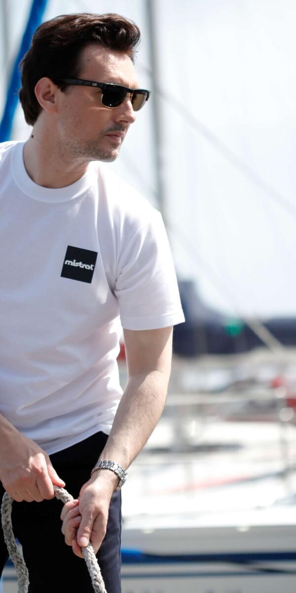 ミストラル ユニセックス [ 半袖Tシャツ - エブリー - ] ホワイト