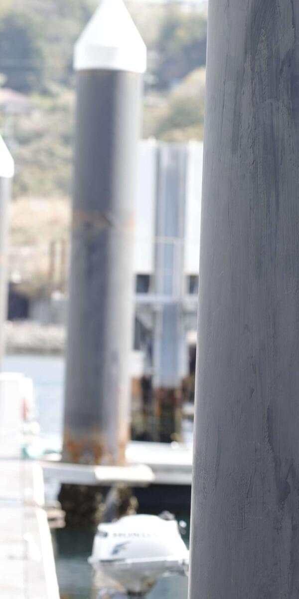 ミストラルトラックジャケット サックス/ネイビー & トラックロングパンツ ダークネイビー