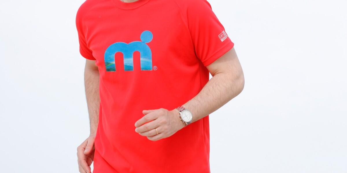 ユニセックス HP-DRY半袖Tシャツ - エムドットスカイ - レッド